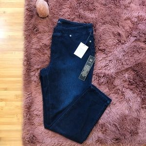 IMAN Runway Chic Curve Appeal Luxury Denim Perfect Fit Skinny Jeans Size 14 HSN